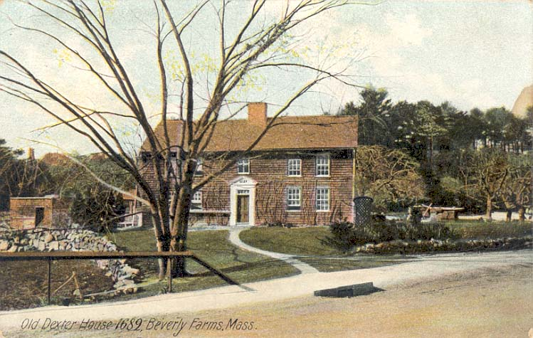 Ancestral Homes: William Haskell House / Old Dexter Place