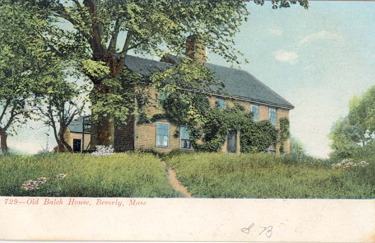 Ancestral Homes: The Balch House