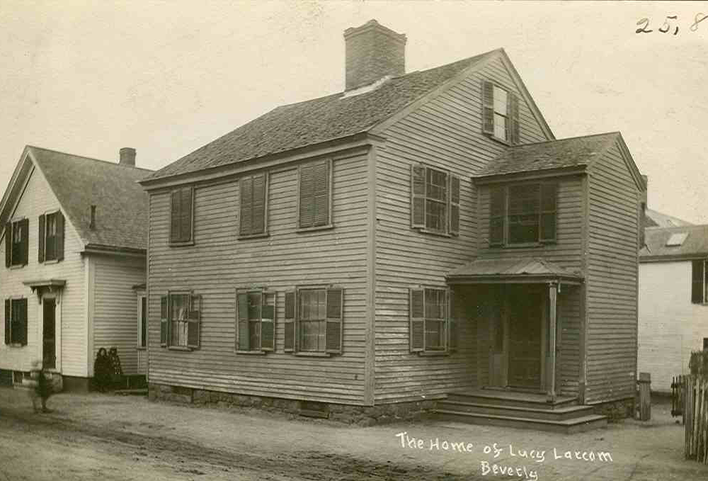 Ancestral Homes: Lucy Larcom's Birthplace